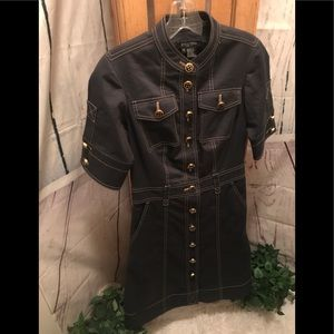 Etcetera Dress navy size 0